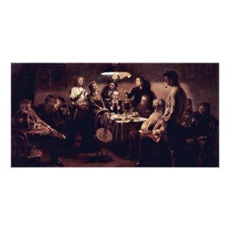 Evening Company By Vladimir Makovsky Photo Cards