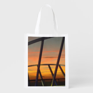 Evening Delight No. 1 Dramatic Sky Grocery Bag