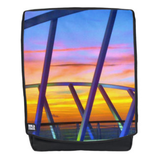 Evening Delight No. 3 Sunset Backpack