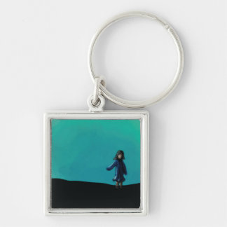 Evening Dreaming Keychain