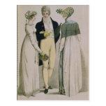 Evening Dresses for illustration Postcard