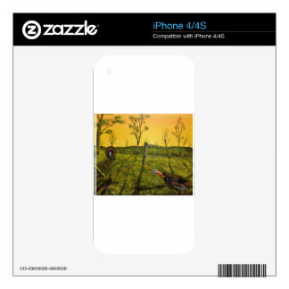 """Evening Dual"" (2014) iPhone 4 Skin"