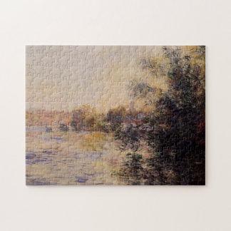 Evening Effect of the Seine Monet Fine Art Jigsaw Puzzle