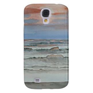 evening fall beach sunset HTC vivid cases