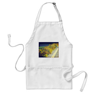 Evening Flowers Adult Apron
