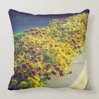 Evening Flowers Pillow