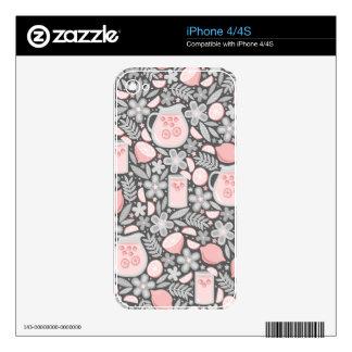 Evening Glass of Pink Lemonade iPhone 4S Decals