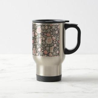 Evening Glass of Pink Lemonade Travel Mug