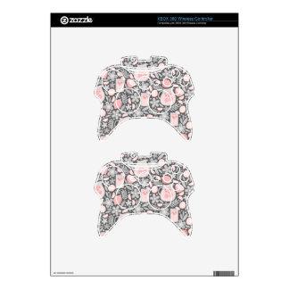 Evening Glass of Pink Lemonade Xbox 360 Controller Skins