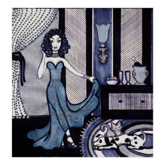 Evening Gown Gloria Poster