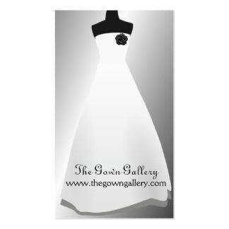 Evening Gowns Wedding Dress Bridal Shop Business Card
