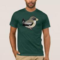 Evening Grosbeak female Men's Basic American Apparel T-Shirt