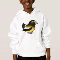 Evening Grosbeak male Kids' Hanes ComfortBlend® Hoodie