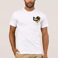 Evening Grosbeak male Men's Basic American Apparel T-Shirt