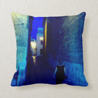 Evening in Andalucia Throw Pillow