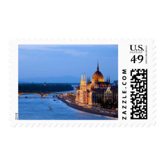 Evening in Budapest Postage