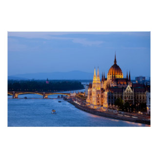 Evening in Budapest Poster