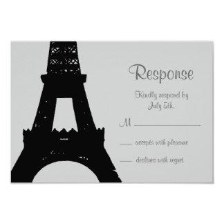 Evening in Paris RSVP 3.5x5 Paper Invitation Card