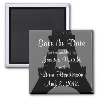 Evening in Paris Save the Date Magnet