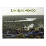 Evening in San Blas Mexico Postcards