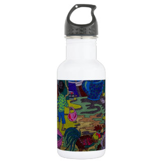 Evening in Toul Chey Water Bottle