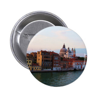 Evening in Venice, Italy 2 Inch Round Button