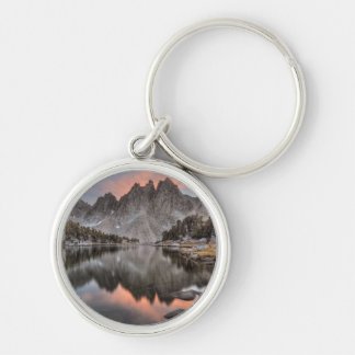 Evening Kearsarge Pinnacles Reflections Keychain