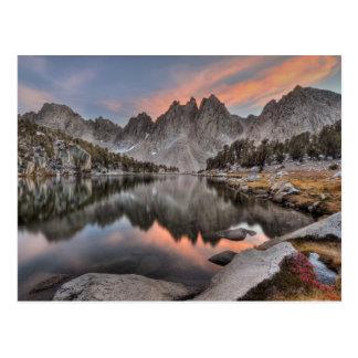 Evening Kearsarge Pinnacles Reflections Post Cards
