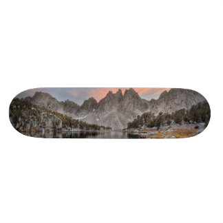 Evening Kearsarge Pinnacles Reflections Skateboard