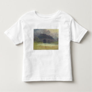 Evening Landscape with Castle and Bridge in Yorksh Toddler T-shirt