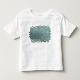 Evening, Le Havre, 1866 (oil on canvas) Toddler T-shirt