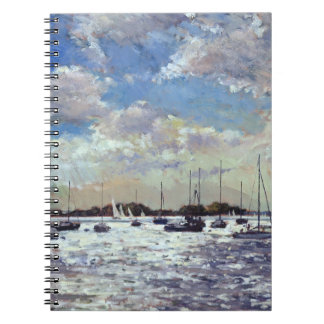 Evening Light Gulf of Morbihan 2002 Notebook