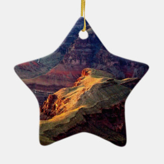 EVENING LIGHT IN GRAND CANYON NATIONAL PARK CERAMIC ORNAMENT
