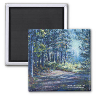 """""""Evening Light On the Trail"""" Magnet"""