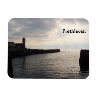 Evening Light Porthleven Cornwall England Magnet