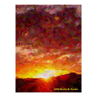 Evening Light Print