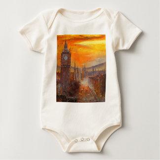 Evening London Baby Bodysuit