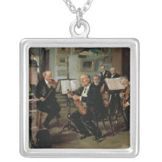 Evening musical, 1906 colgante cuadrado