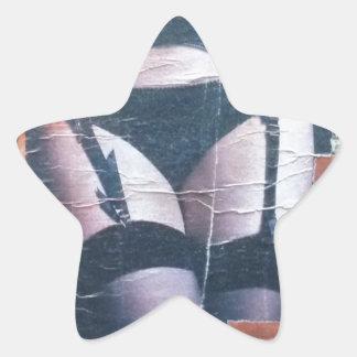 Evening News Star Sticker