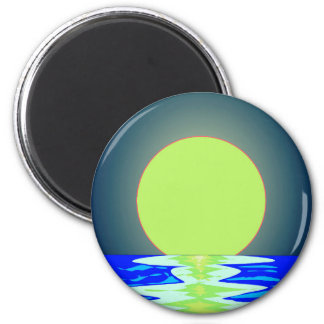 Evening Ocean Reflections Magnet