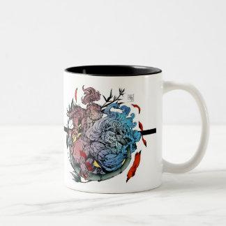 Evening of the seventh Two-Tone coffee mug