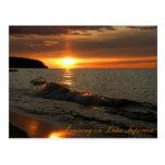 Evening on Lake Superior Postcards