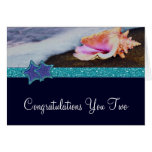 Evening On The Beach Congratulations Greeting Cards