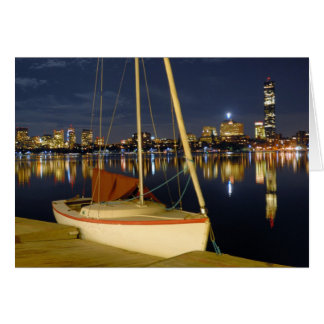 Evening on the Charles Greeting Card