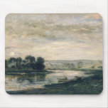 Evening on the Oise, 1872 Mouse Pads