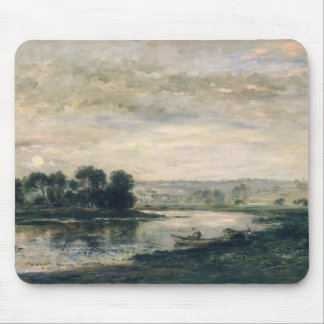Evening on the Oise, 1872 Mouse Pad