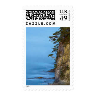 Evening on the Pacific Ocean. Rikuchu Kaigen Stamp