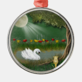 EVENING ON THE WATER CHRISTMAS TREE ORNAMENT