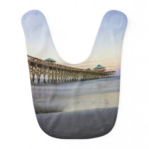 Evening Peace On Folly Beach Bib