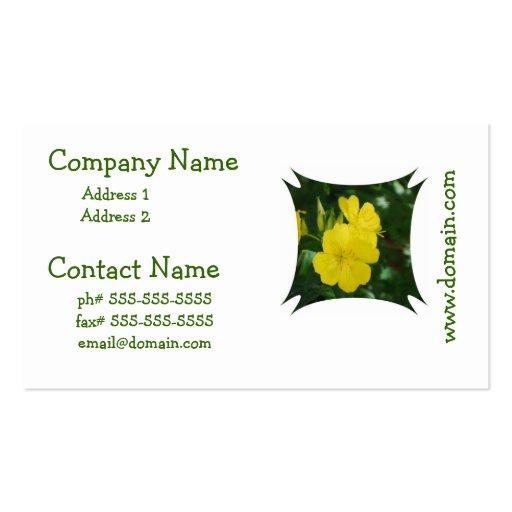 Evening Primrose Business Cards